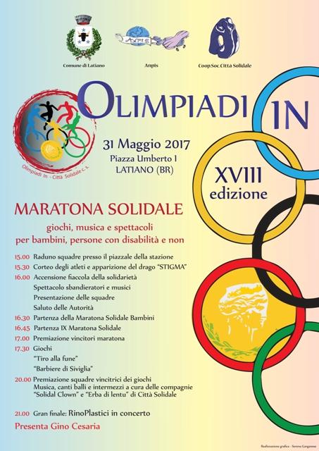 Olimpiadi In 2017 Città Solidale
